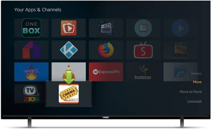 Cinema HD for Smart TV Android TV