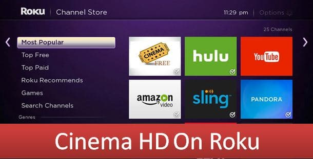 Cinema HD on Roku