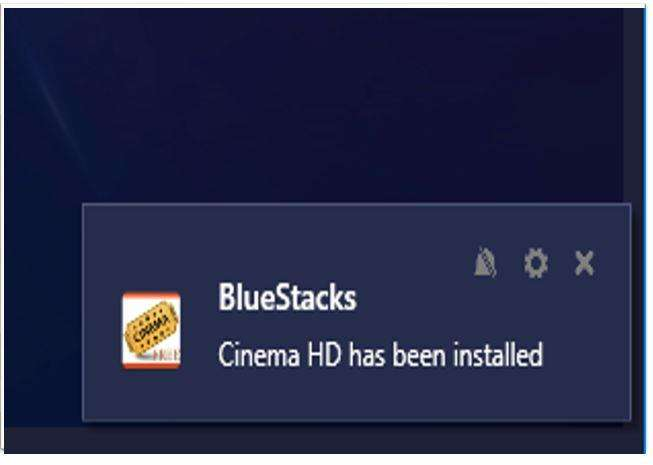 Pop Up on BlueStacks