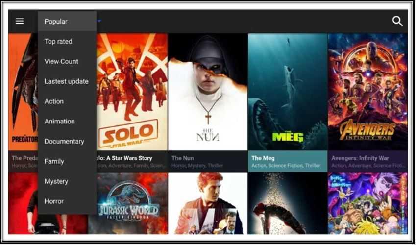 Cinema HD streaming on Nvidia Shield
